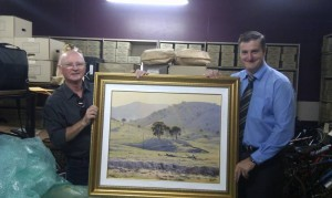 Fraud case involving a Les Graham painting